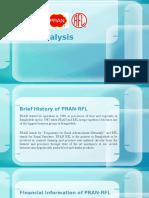 PRAN RFL Ratio Analysis