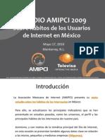 Estudio de Hábitos del internauta mexicano 2009