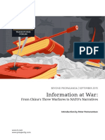 Information at War From China s Three Warfares to Nato s Narratives PDF