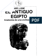El Antiguo Egipto, Anatomía de Una Civilización - BarryKemp