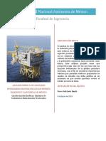 Análisis Sobre Los Complejos Petroleros Ekofisk en El Mar Muerto Noruego y Cantarell en México