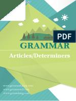 Articles Determiners Menurut Grammar Bahasa Inggris