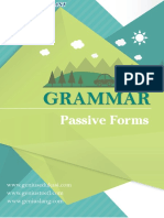 Passive Forms Menurut Grammar Bahasa Inggris