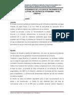 Manual de O&M PTAR Tayabamba