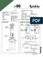 Infinity_KAPPA-90 Technical Manual