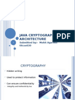 java cryptography architeacture seminar ppt