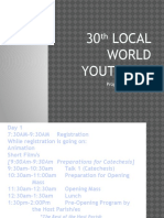 30th Local World Youth Day