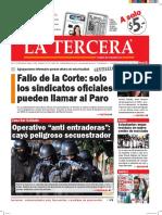Diario La Tercera 08.06.2016