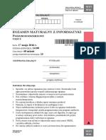 Matura 2016 - informatyka - poziom rozszerzony - arkusz maturalny (www.studiowac.pl)