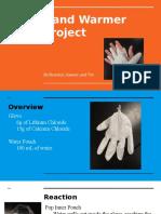 hand warmer presentation