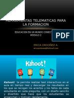 Herramientas Telematicas Para La Formacion