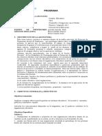 Programa Gestion Educativa. 2013