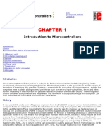 PIC Microcontrollers Chap Introduct