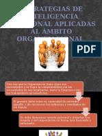 inteligencia emocional aplicada al ámbito organizacional