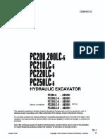Komatsu PC200-6 Shop Manual