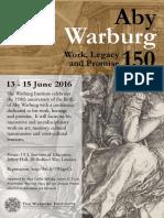 WARBURG Conference Poster