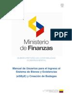 1.Manual de- Usuarios Para El Ingreso Al E-SByE -y Creacion de-Bodegas