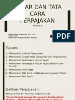 1 - Materi Pengantar