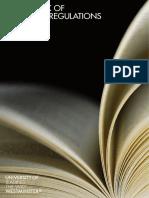 Complete Handbook of Academic Regulations