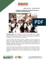 2016-06-01 LA VICTORIA ESTÁ ANUNCIADA, CERREMOS CON BROCHE DE ORO EL DOMINGO- ENRIQUE SERRANO