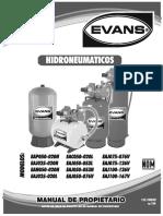 Manual Hidroneumático EVANS