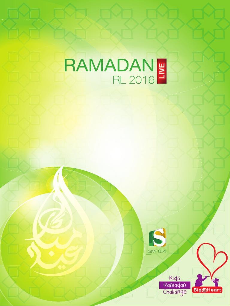 Ramadan Magazine 2016 | Ramadan | Religious Education