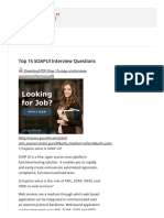 Top 15 SOAPUI Interview Questions