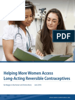 Helping More Women Access Long-Acting Reversible Contraceptives