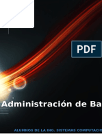 Adminitracion de Base de Datos