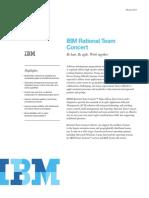Datenblatt IBM Rational Team Concert Engl
