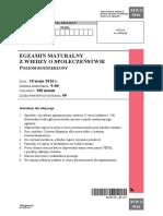 Matura 2016 - WOS - poziom rozszerzony - arkusz maturalny (www.studiowac.pl)