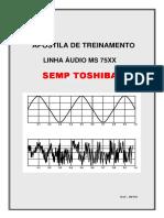 Apostila de Treinamento Àudio Linha 75XX Toshiba.pdf