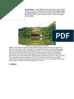 10 Tempat Wisata Terpopuler Di Jepang