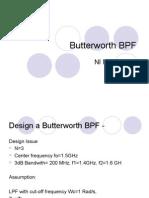 Butterworth BPF