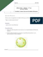 Actividade Prática Modelo Do Atomo
