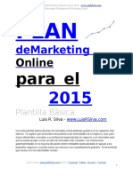 Plan de Marketing Online de una Empresa Ejemplo