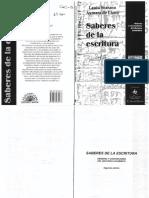 Scarano - D. Lano - Saberes de La Escritura (16 Copias)