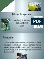 Kuliah 3 Perlakuan Permukaan (TMP 3425)