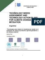 Tecnologias Para Mejorar La Transferencia Modal en El Transporte de Cargas de Productos Agricola-ganaderosy de Residuos Urbanos