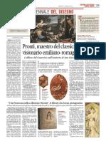 7.6.2016, 'L'Art Nouveau Nella Collezione Parenti, Il Liberty Che Torna Protagonista', Corriere