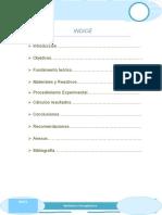 Informe de Quimica Practica