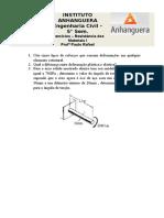 Exercicios - Res. Materiais I - 5 Semestre - Paulo R-1