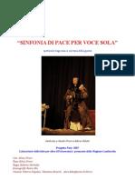 Sinfonia Di Pace - Presentazione