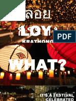 Loy Krathong Senac