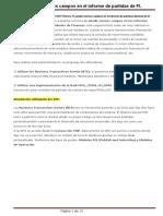 Ejemplo - Añadir Nuevos Campos en El Informe de Partidas de FI