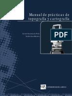 Manual de practicas de topografía y Cartografía