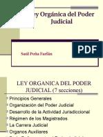 LOPJ Estructura