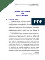 Proposal KP PT.total & PT.unocal