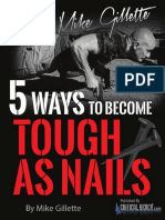 5 Ways to Become Tough a Snails