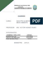 Informe Chorizo